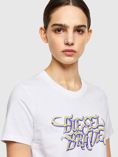 Diesel - T-SILY-K8, Blanco - Camisetas - Image 3