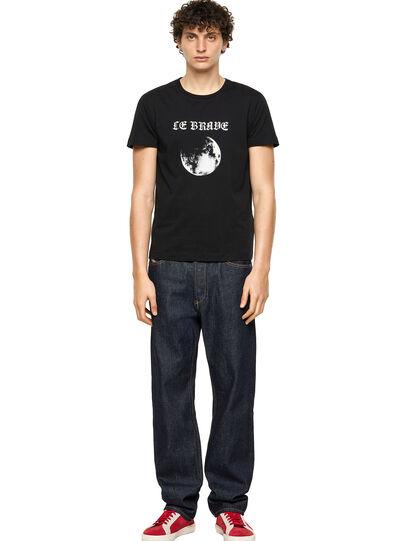 Diesel - T-INY-B1, Negro - Camisetas - Image 4