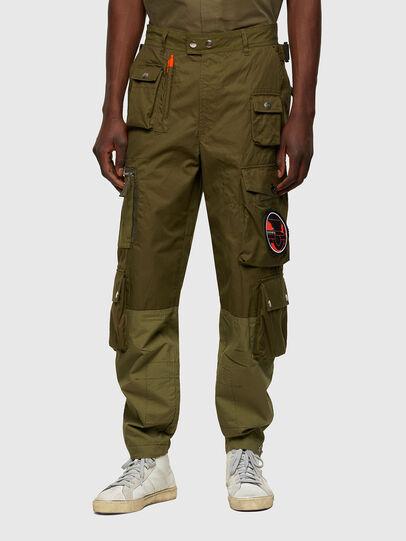 Diesel - P-CYAN, Verde Militar - Pantalones - Image 1