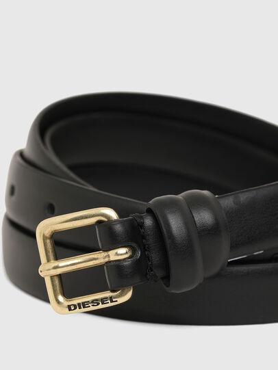 Diesel - B-DOUBLEWRAP, Negro - Cinturones - Image 2