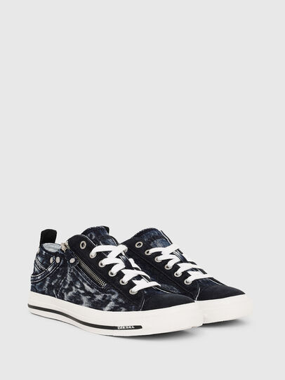 Diesel - EXPO-ZIP LOW W, Azul Oscuro - Sneakers - Image 2