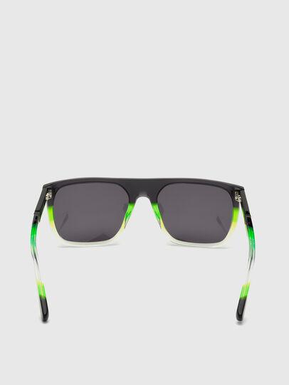 Diesel - DL0299, Negro/Verde - Gafas de sol - Image 4
