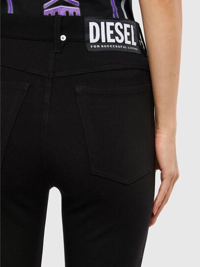 Diesel - P-CUPERY, Negro - Pantalones - Image 4