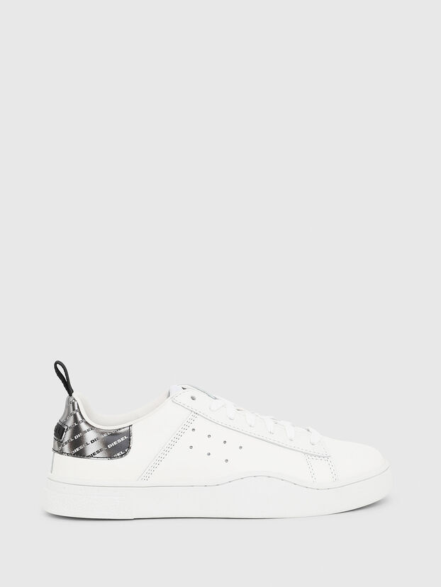 S-CLEVER LOW W, Blanco/Plateado - Sneakers