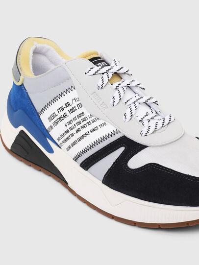 Diesel - S-BRENTHA FLOW, Gris/Azul - Sneakers - Image 4