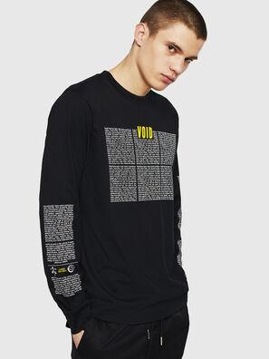 T-JUST-LS-NEW, Negro - Camisetas