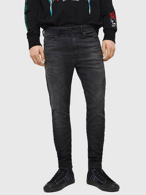 Spender JoggJeans 069GN, Negro/Gris oscuro - Vaqueros