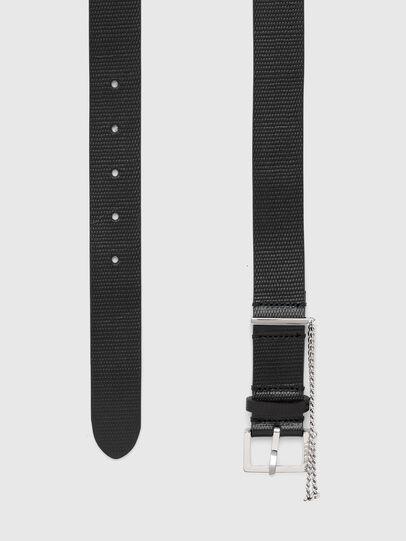 Diesel - B-MALIER, Negro - Cinturones - Image 3