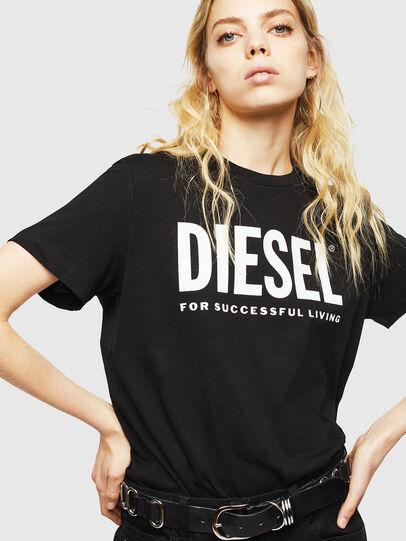 Diesel - T-DIEGO-LOGO, Negro - Camisetas - Image 6