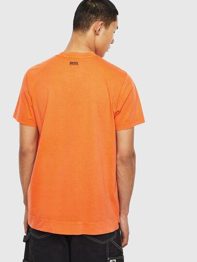 Diesel - T-THURE, Naranja - Camisetas - Image 2