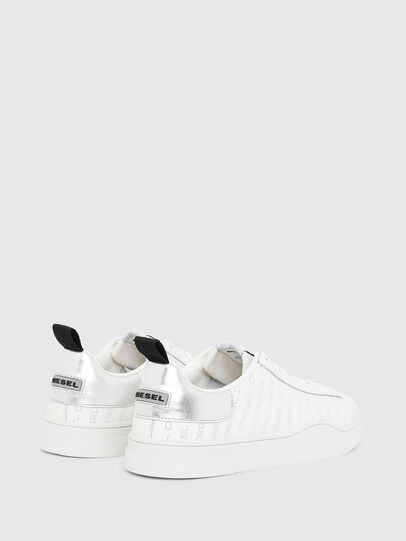 Diesel - S-CLEVER LOW LACE, Blanco/Plateado - Sneakers - Image 3
