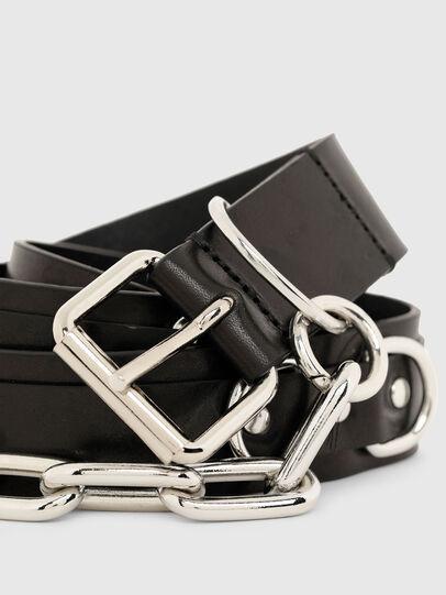 Diesel - B-RICH, Negro - Cinturones - Image 2
