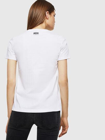 Diesel - T-SILY-WK, Blanco - Camisetas - Image 2