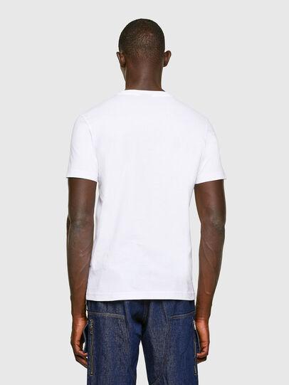 Diesel - T-DIEGOS-K11, Blanco - Camisetas - Image 2