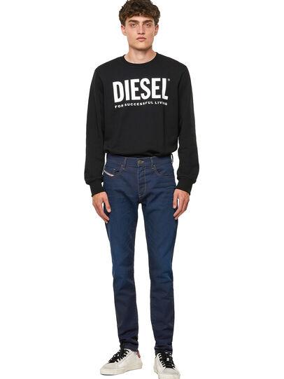 Diesel - D-Strukt JoggJeans® Z69VZ, Azul Oscuro - Vaqueros - Image 5