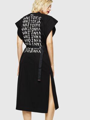 D-FLIX-B, Negro - Vestidos