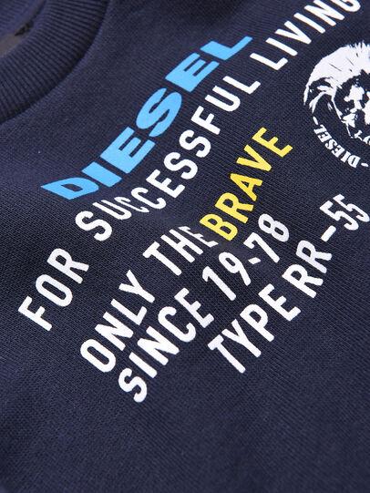 Diesel - SDIEGOXB, Azul Oscuro - Sudaderas - Image 3