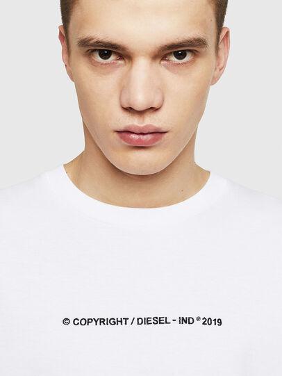 Diesel - T-JUST-LS-COPY, Blanco - Camisetas - Image 3