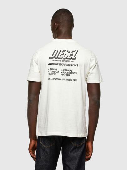Diesel - T-JUST-A33, Blanco - Camisetas - Image 2