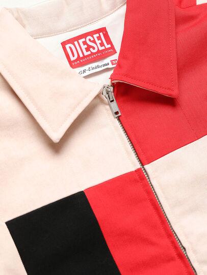 Diesel - GR02-J303-P, Blanco - Chaquetas de denim - Image 3