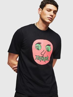 T-JUST-B27, Negro - Camisetas