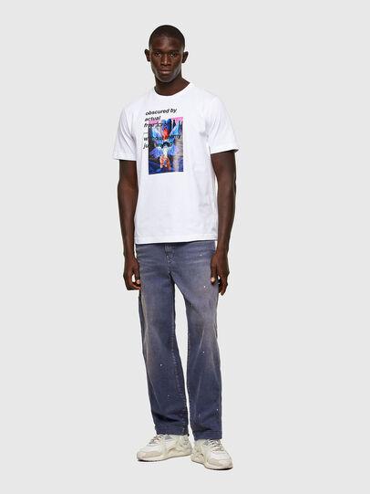 Diesel - T-JUST-A43, Blanco - Camisetas - Image 4