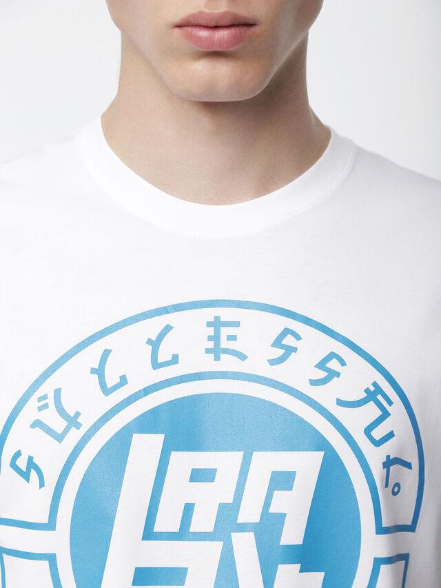 Diesel - T-DIEGO-XC, Blanco - Camisetas - Image 3