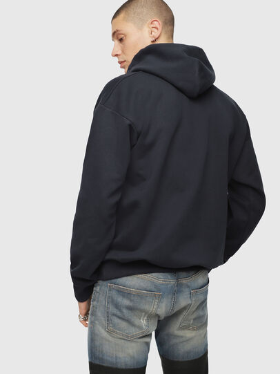 Diesel - S-DIVISION, Azul Oscuro - Sudaderas - Image 2