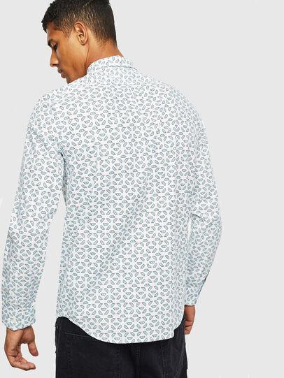 Diesel - S-CLES-D, Blanco - Camisas - Image 2