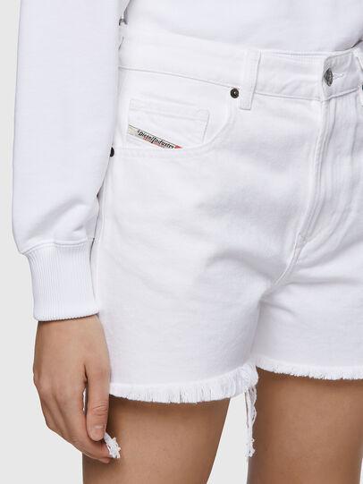 Diesel - DE-REG-R, Blanco - Shorts - Image 3