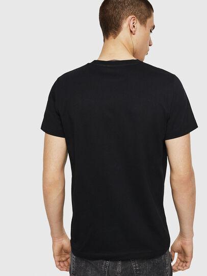 Diesel - T-DIEGO-A8, Negro - Camisetas - Image 2