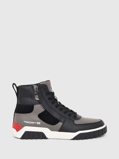 Diesel - S-RUA MID SK, Gris - Sneakers - Image 1