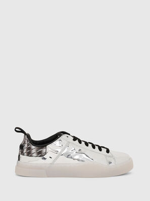 S-CLEVER LOW LACE W, Plata - Sneakers