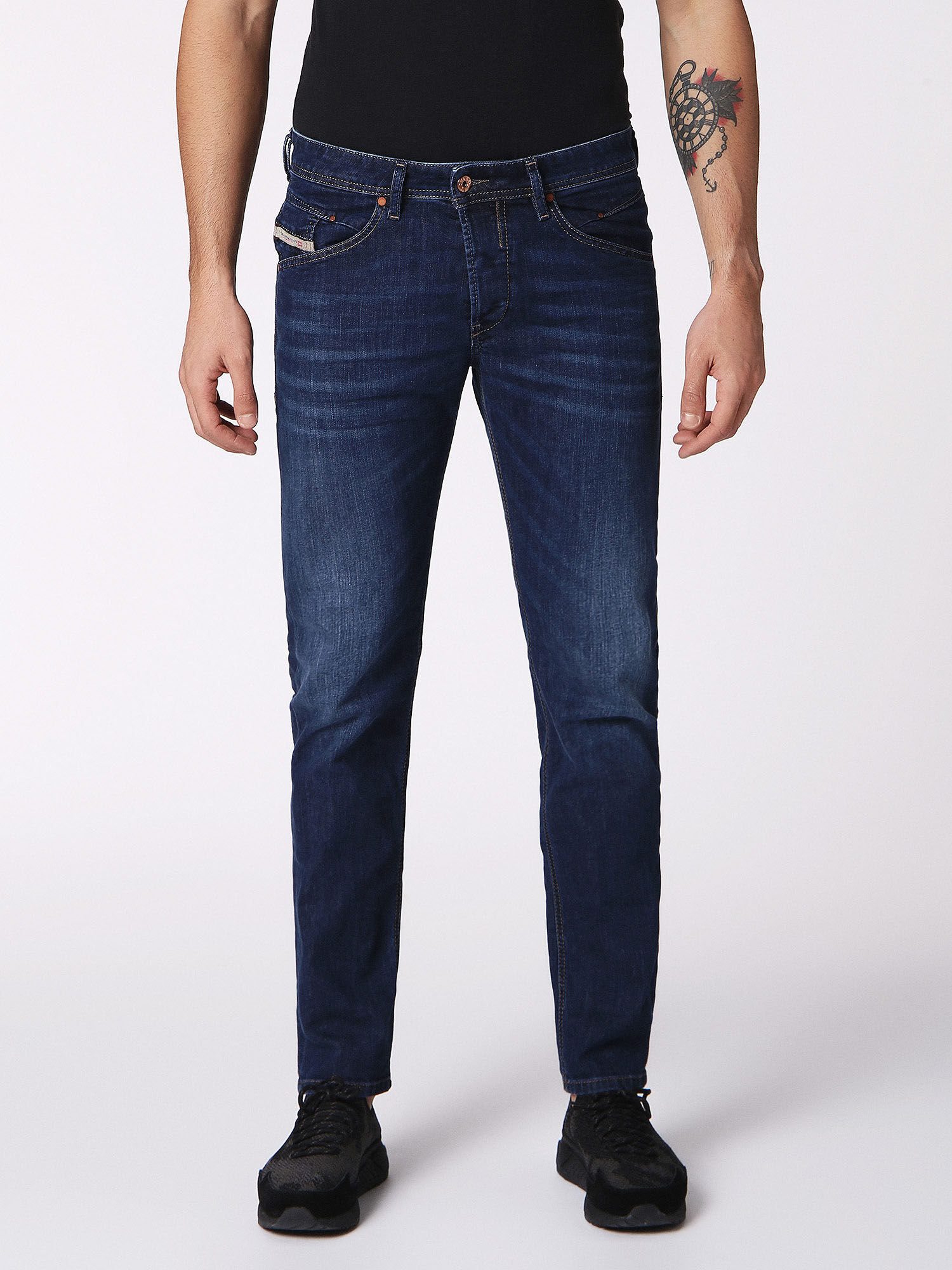 Diesel BELTHER - Vaqueros tapered - 084nr yNbWj8
