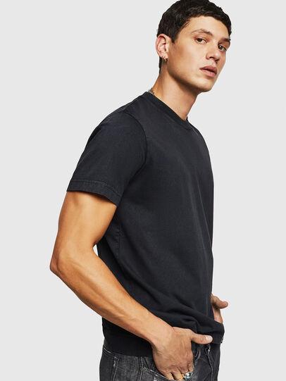 Diesel - T-THURE, Negro - Camisetas - Image 4