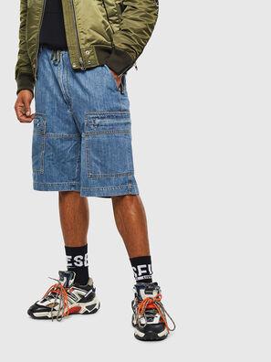 D-LUKS-SHORT, Azul Claro - Shorts