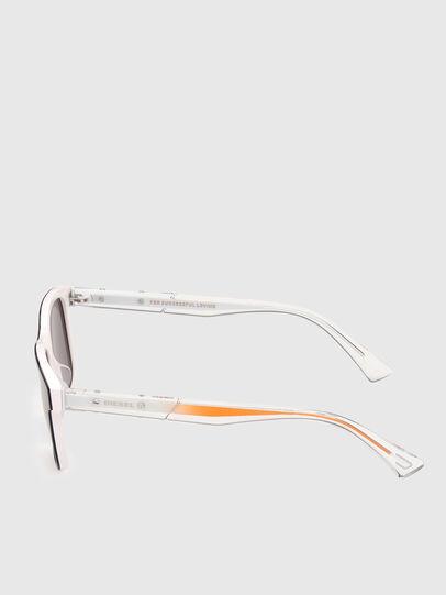 Diesel - DL0279, Blanco/Naranja - Gafas de sol - Image 3