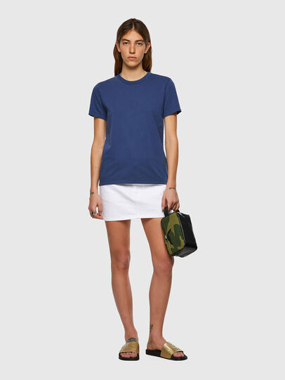 Diesel - T-SILY-B1, Azul - Camisetas - Image 4