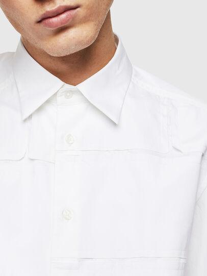 Diesel - S-AUDREY, Blanco - Camisas - Image 5