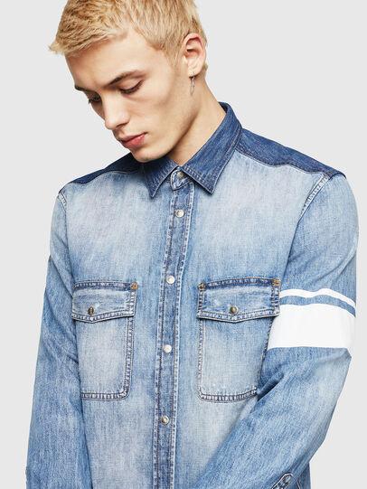 Diesel - D-MILLER, Blue Jeans - Camisas de Denim - Image 3
