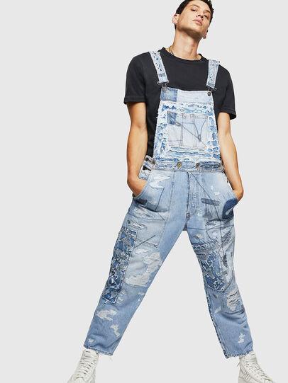 Diesel - D-HARU-SY, Blue Jeans - Monos - Image 1