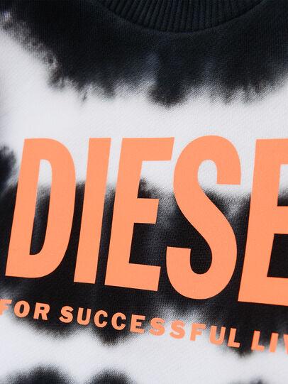 Diesel - SOBEZB, Negro/Blanco - Sudaderas - Image 3