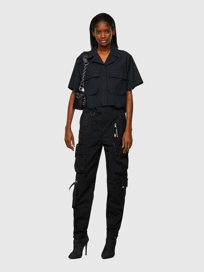 Diesel - C-ADARA-A, Negro - Camisas - Image 5