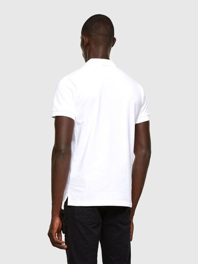 Diesel - T-RANDY-NEW-A2, Blanco - Polos - Image 3