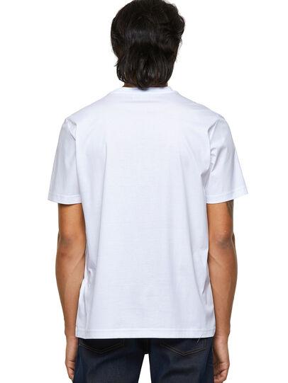 Diesel - T-JUST-B63, Blanco - Camisetas - Image 2