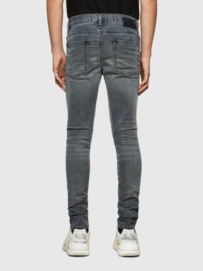 Diesel - D-Reeft JoggJeans® 069RD, Negro/Gris oscuro - Vaqueros - Image 2