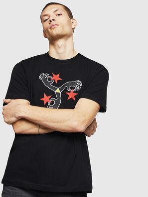 T-JUST-A12, Negro - Camisetas