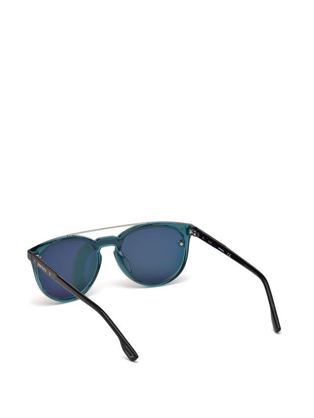 Diesel - DL0216, Azul/Naranja - Gafas de sol - Image 2