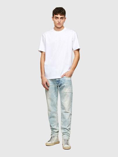 Diesel - T-JUST-E7, Blanco - Camisetas - Image 4