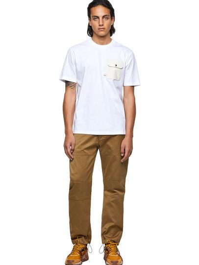 Diesel - T-JUSMER, Blanco - Camisetas - Image 4